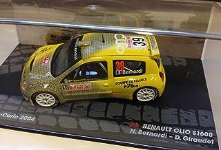 Générique Renault Clio S1600 - Rally Monte Carlo 2004 - Bernardi - IXO 1/43