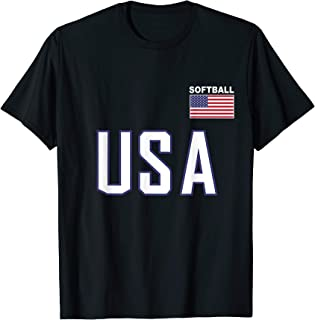 usa softball shirt