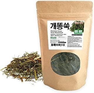 [Medicinal Korean Herb] Artemisia Annua (Sweet Wormwood/Sweet Annie/Qinghao / 개똥쑥) Dried Bulk Herbs 3oz (86g)