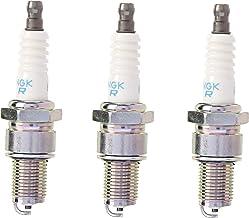 NGK (4008) BPR6ES SOLID Standard Spark Plug, Pack of 3