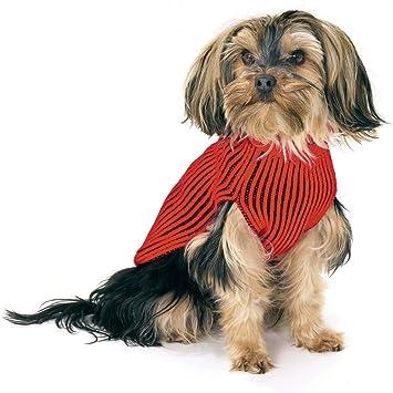 Karlie Hundepullover 44 cm rot//schwarz