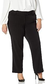 Women's Plus-Size Curvy Fit Gabardine Bootcut Pant