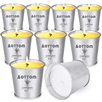 Deals on 9 Pack Aottom Citronella Scented Candles
