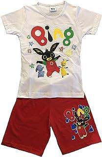 dac8c32426d3 -Bing Completo T-Shirt con Pantaloncino Coniglietto Mis. 1 2 3 4 5