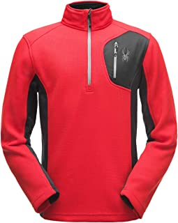 FREE Shipping on eligible orders. Spyder Men s Bandit Half-Zip Stryke  Fleece Pullover Jacket for Winter Sports bc69ad84f