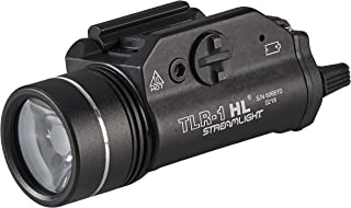 Streamlight 69260 TLR-1 HL 1000-Lumen Tactical Weapon Mount Light With Rail Locating Keys..