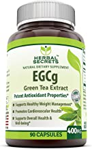Herbal Secrets Green Tea Extract - 400 MG 90 Capsules (Non-GMO)- Support Healthy Weight Management, Overall Health & Well Being, Promotes Cardiovascular Health*