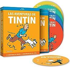 Tintin : l'intégrale de l'animation Region B Les Aventures de Tintin - Coffret : 21 aventures intégrales