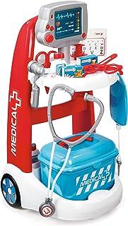 Smoby - Chariot Médical Electronique - Jouet pour Enfant - 16 Accessoires de Docteur - Sons et Lumières - 340202