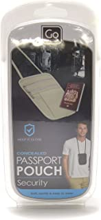 Go-Travel Passport Pouch, Assorted, 604
