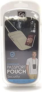 Go-Travel Passport Pouch, Assorted, 604