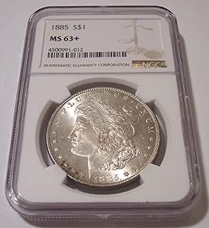 1885 Morgan Silver Dollar MS63+ NGC