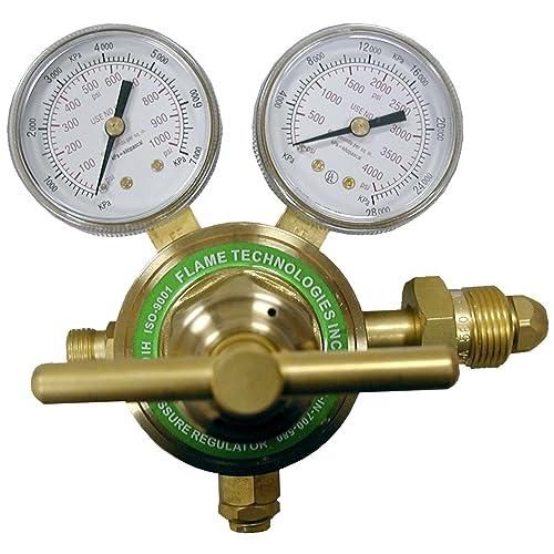 Flame Technologies HPPR-IN-700-580 High Pressure Piston Regulator for Inert Gases