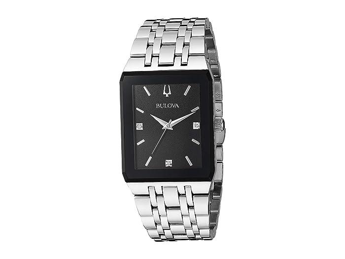Bulova  Quadra - 96D145 (Steel) Watches