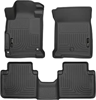 Husky Liners 44131 - Forro para maletero, color negro, Negro, Weatherbeater Front & 2nd Seat Floor Liners