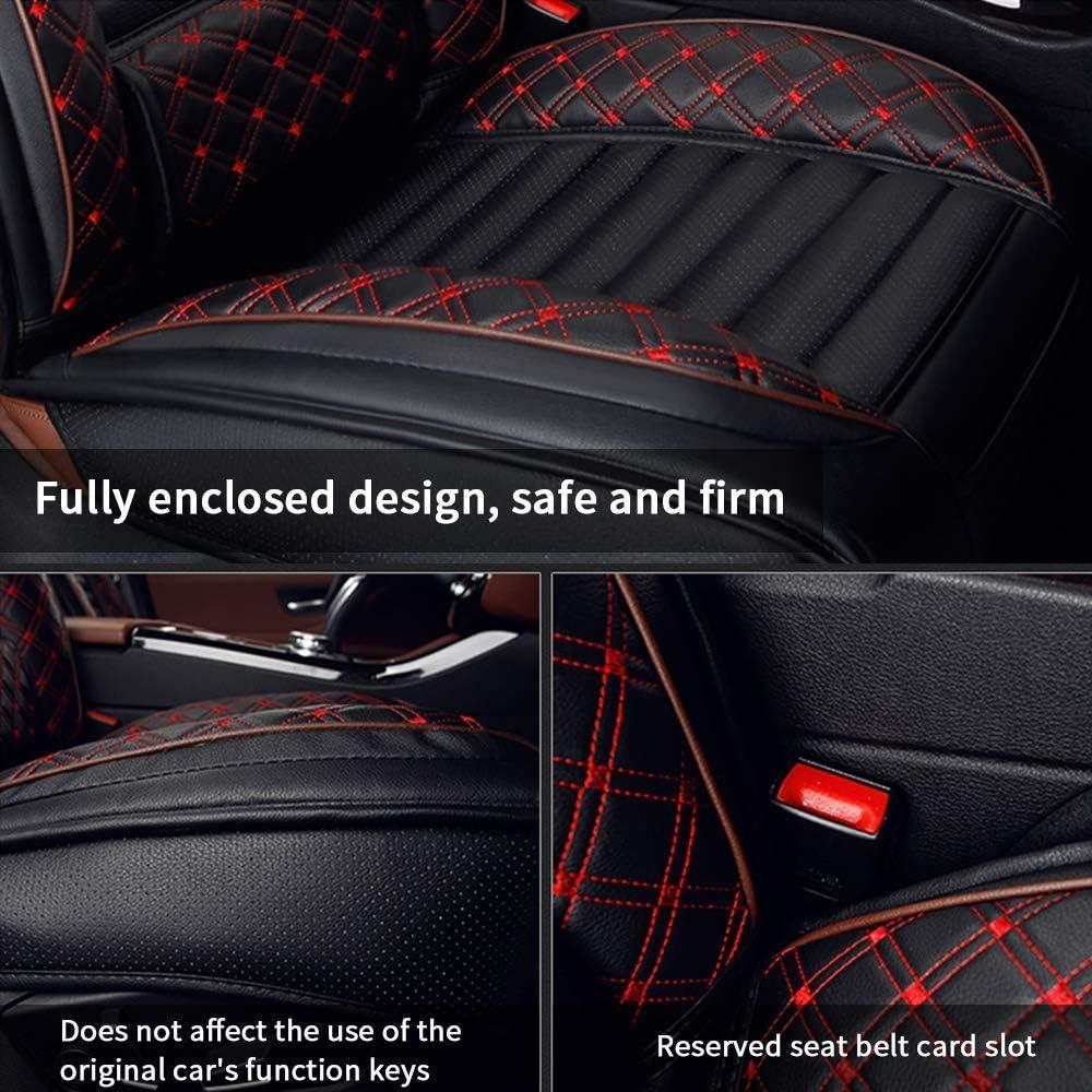 Accesorios Interiores para Auto Imprescindibles 2 Piezas para Asientos Delanteros for A cura ZDX Fundas para Asientos De Cuero De Pu