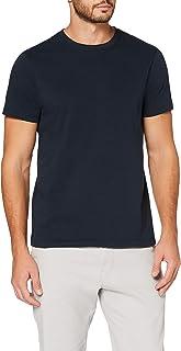 MERAKI T- Shirt Slim Homme, Coton Organique