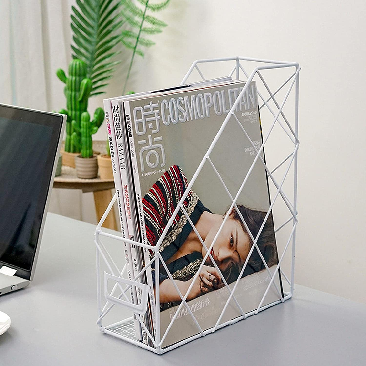 N\C Simple Geometric Desk Courier shipping free shipping Selling and selling Bookshelf Box Office Supplies Desktop