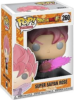 Funko Pop! Animation Dragon Ball Z Super Saiyan Rose Goku Black Vinyl Figure