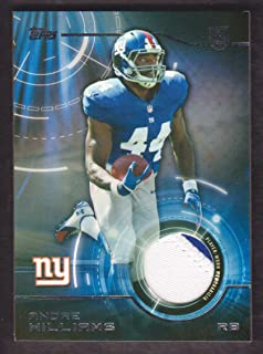 2014 Topps Football Rookie Patch #TRP-AW Andre Williams Jersey New York Giants