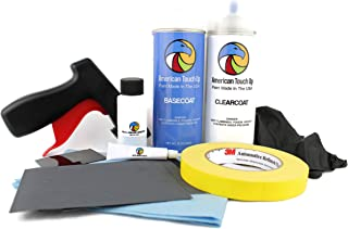 Genuine OEM Automotive Touch Up Spray Paint (Basecoat/Clearcoat KIT) for BMW - Select Your Color (A17 Mojave Metallic)