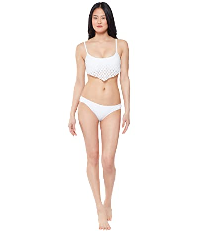 Jessica Simpson Sweet Tooth Solids Side Shirred Hipster Bottoms