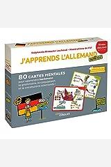 J'apprends l'allemand autrement niveau débutant: 80 cartes mentales pour apprendre facilement la grammaire, la conjugaison et le vocabulaire allemands ! Broché