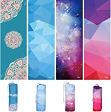 SYOURSELF Yoga Towel-72 x24 - Non Slip,Ultra Absorbent,Soft-Perfect Microfiber Hot/Skidless/Bikram Yoga Towel for Fitness, Exercise,Sports& Outdoors +Travel Bag