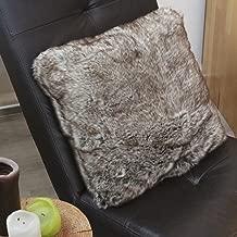 Mirha Leinen Bird Rattani Set 4 x Stuhlkissen//Sitzkissen Marina Eckig mit Schleife 40 x 40 cm Dicke 5 cm