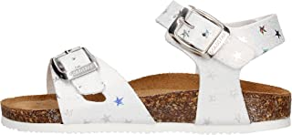 Gold star Sandales blanches pour fille 806S