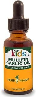 Herb Pharm Kids Mullein and Garlic Oil, 1 Ounce