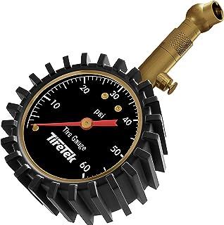 TireTek Tire Pressure Gauge 0-60 PSI – Heavy Duty Air Pressure Gauge ANSI Certified..