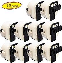 Yellow Yeti 10 Rollos DK-11208 38 x 90mm Etiquetas de dirección compatibles para Brother P-Touch QL-500 QL-570 QL-700 QL-710W QL-720NW QL-800 QL-810W QL-820NWB QL-1100 QL-1110NWB   400 Etiquetas/Rollo