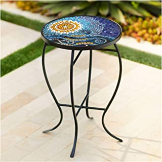 Best round tile top patio table Reviews