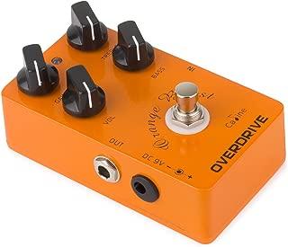 Caline CP-18 Orange Overdrive Guitar Effect Pedal True Bypass Guitar Pre AMP Effect Pedal