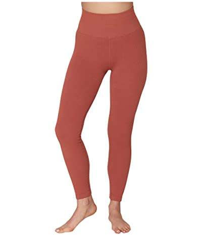 Spiritual Gangster Metta Leggings (Rust) Women