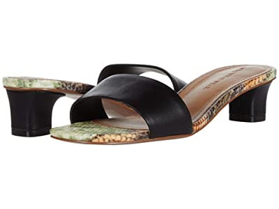 Who What Wear Nicola (Black/Pecan Natural Snake) Women