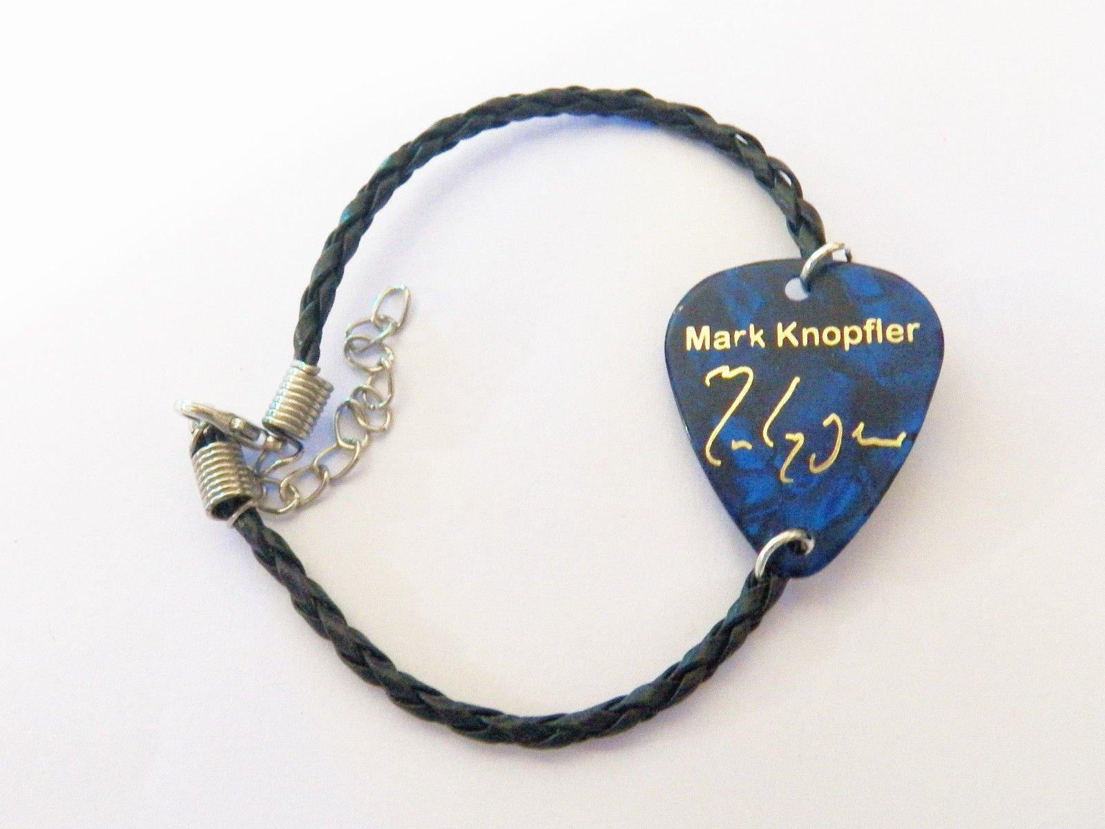 MARK KNOPFLER DIRE STRAITS púa de guitarra plectro cuero retorcido ...