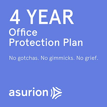 ASURION 4 Year Office Equipment Protection Plan $20-29.99