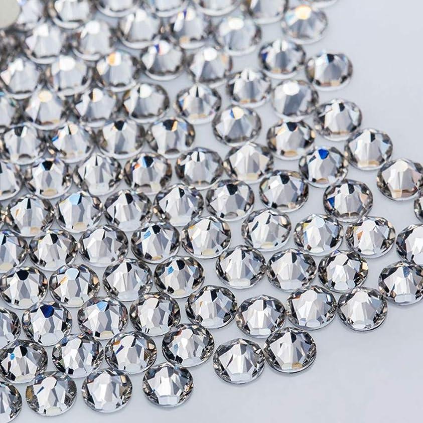 クラッチ成功した親WTX ガラス製 ラインストーン 高品質 1440粒 SS4~SS30 ネイル デコ クリスタル (SS12(約3.0-3.2mm), クリスタル)