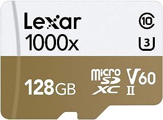 Lexar Professional 1000x 128GB microSDXC UHS-II Card, (LSDMI128CB1000A)