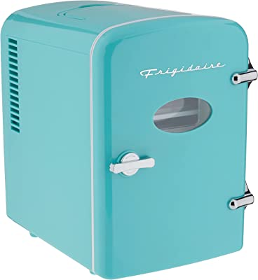 RCA RMIS129-BLUE Mini Retro 6 Can Beverage Refrigerator-Blue
