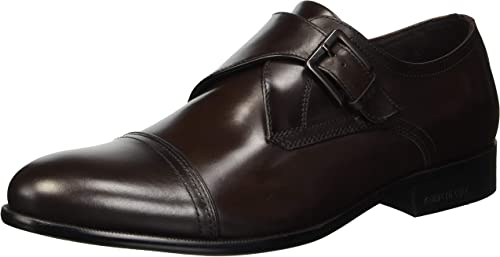 Kenneth Cole New York Hommes's Capital Monk-Strap Loafer, marron, 8.5 M US