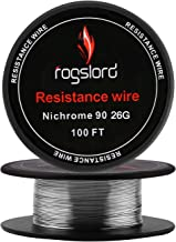 Resistance Wire Ni 90 100 ft 26 Gauge Nichrome 90 AWG 0.40mm 26g