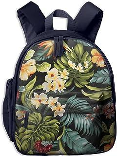 Flora Flower Durable Book Bag Lovely Animal Kid's School Daypack Soccer Children Kindergarten Backpacks 12.5