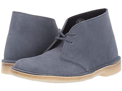 Clarks Desert Boot (Deep Blue Suede) Women