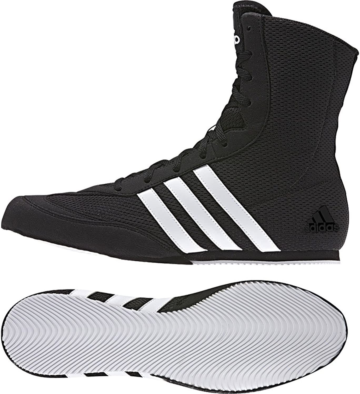 Adidas Box Hog 2 Junior Boxing Boots, Black, US5