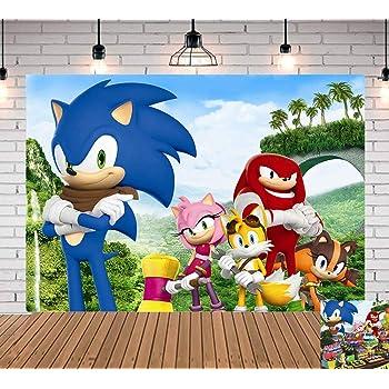 Amazon.com : Sonic Hedgehog Photography Backdrop Newborn