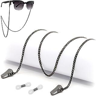 سلسلة النظارات للنساء الرجال - حامل النظارات - سلسلة اكسسوارات الزجاج العين - حامل النظارات حول الرقبة