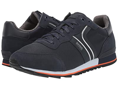 BOSS Hugo Boss Parkour Sneaker by BOSS (Dark Blue 1) Men
